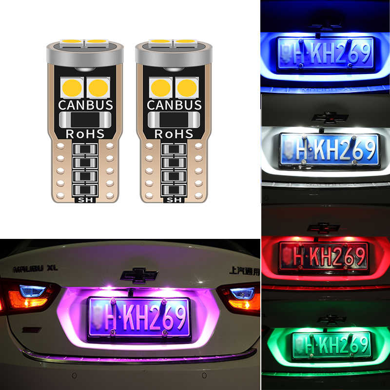 T10 W5W 194 LED รถ CANBUS Clearance ไฟสำหรับ Hyundai I30 IX35 Solaris I20 Sonata สำหรับ Kia K5 Sportage L811 แผ่นป้ายทะเบียน