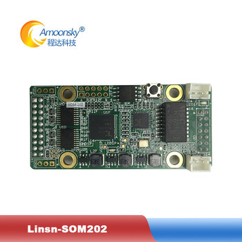 linsn SOM202 receiver card linsn control card for full color smd led panel display module card som202 for original factory image