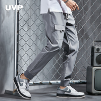 Sweatpants Male Sports Pants Men Gym Clothing Jogging Pants Men's Trousers 2019 New Multi-Pocket Cargo Pants Male Trousers