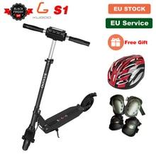 [Европа фото] KUGOO S1 складной электрический скутер для взрослых 30 км, минус 30 км/ч, ЖК-дисплей Дисплей e Скутер PK M365 Электрический Скутер PK Ninebot