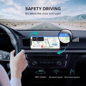 Image 5 - GETIHU voiture Support de téléphone magnétique évent montage Support de téléphone portable aimant GPS Support pour iPhone 12 11 Pro X Max Xiaomi HuaweI