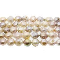 AAA Grade Natural Freshwater Pearl Loose Beads Strands White Color Baroque Pearl Beads For DIY Necklace Bracelet 10 13mm