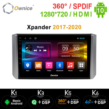 Ownice k3 k5 k6 Android 10.0 Car DVD Radio for Mitsubishi Xpander 2017 - 2020 GPS Navi Multimedia DSP 4G LTE SPDIF 360 Panorama image