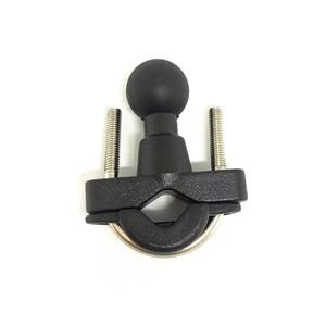 Image 4 - Jadkinsta moto guidon Rail tiges u bolt pince socle de montage avec boule de 1 pouce pour Gopro GPS