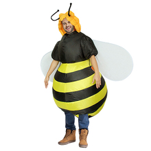Bumble Bee Inflatable Costume Party Fancy Dress Halloween Adult Outfit Cosplay Animal Purim Blowup Carnival