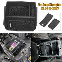 Boîte de rangement d'accoudoirs pour Jeep Wrangler JK 2011 – 2017, boîte de rangement d'accessoires de voiture utiles