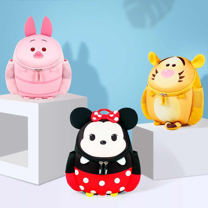 מקורי דיסני גן ילקוט קריקטורה ילקוט לילדים Cartoon מיני מיקי ילדי ילדים תרמיל תועה תיק S