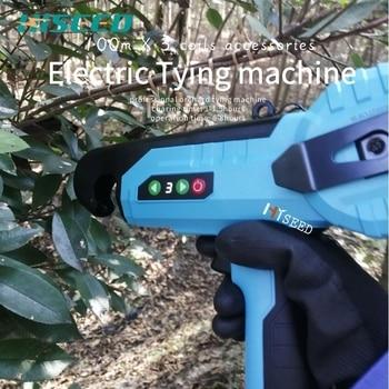 Herramienta de atado eléctrico HDP718, tapenador eléctrico, máquina de atado manual con batería