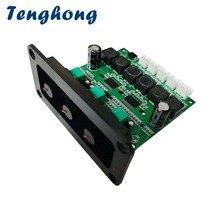 Tenghong TPA3118DD2 Subwoofer Versterker Boord 30Wx2 + 60W Hifi 2.1 High Power Digital Sound Audio Versterkers Board Diy Met panel