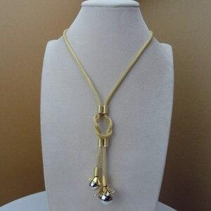 Image 2 - Yumingtai ensemble de bijoux fins, 24 carats, dubaï, joli Design pour femmes, FHK9517