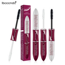 New Makeup  Express  Mascara With Collagen Cosmetic Extension Long Curling Professional Waterproof Eyelash Black moistfull collagen