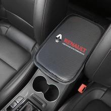 Auto Console Central Armrest Soft Pad Cushion Mat For Renault koleos duster megane 2 Car Seat Box Padding Protective Soft Mats