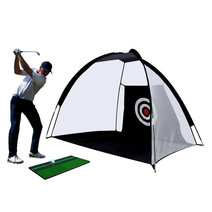 H63ce21b1c88947898bfe8b2426745b32e Foldable Golf Hitting Cage