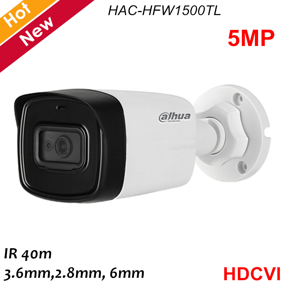 Dahua Lite Plus Series 5MP HDCVI Camera 1/2.7