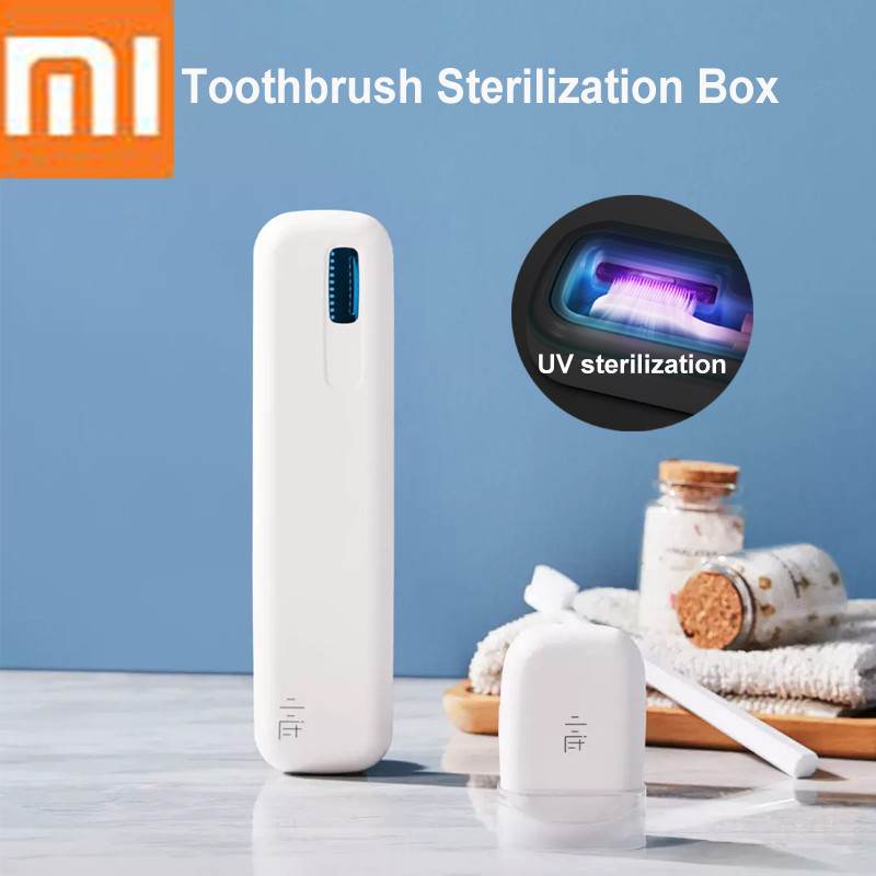 Xiaomi Xiaoda Toothbrush Disinfection Box Sterilizer Case UVC Sterilization Portable USB Chargeable Smart Home image