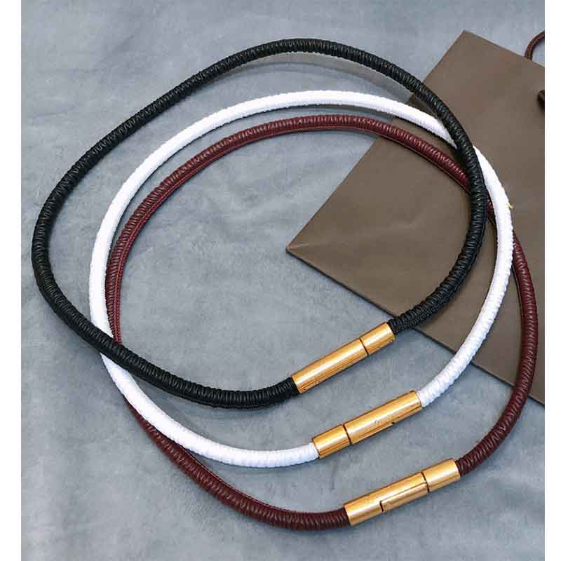 Cosmicchic 2020 women Elegant Brass buckle sheepskin Leather Belt High Street Wild Multilayer Line Multicolor fashion Belt
