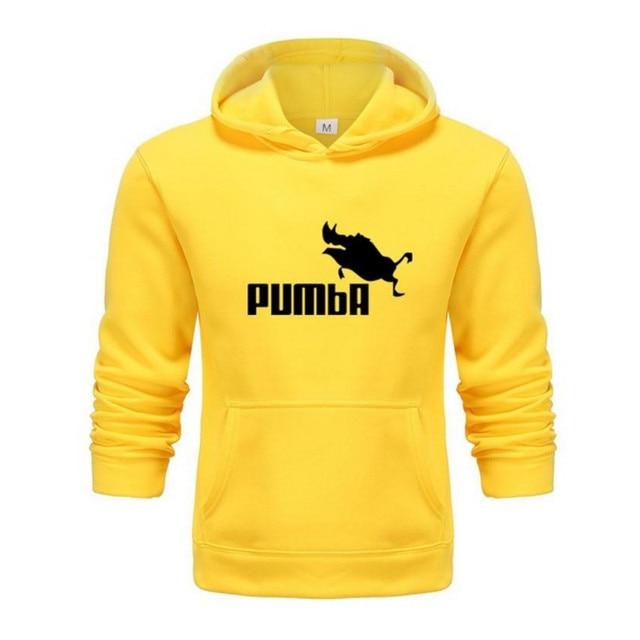 2020 hot funny cute Hoodies men women Pumba hoodie Sweatshirt Fashion casual streetwear cool lovely costume hoodies men 4