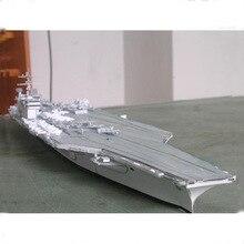 Бумажная модель 47 см Американский Nimitz класс Truman авианосец Модель ручной работы DIY