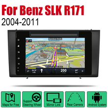 цена на Auto Radio 2 Din Android Car DVD Player For Mercedes Benz SLK Class R171 2004~2011 NTG GPS Navigation Map Multimedia system