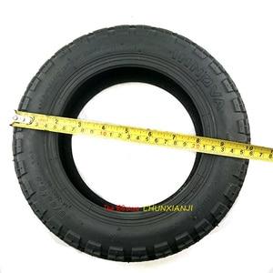 Image 4 - 번개 선적 전기 스쿠터 90/65 6.5 크로스 컨트리 타이어에 대 한 슈퍼 품질 11 인치 공 압 타이어