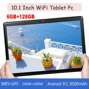 2020 Tablet PC 10.1 Inch 4G Lte Phablet Dual SIM Card Tablets 8 core 6GB+128GB IPS Screen Big Battery FM GPS Wi-Fi Bluetooth