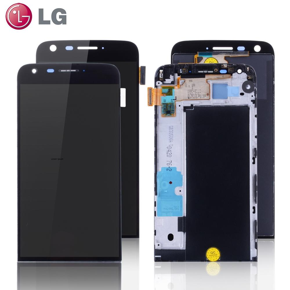 Display For LG G5 LCD Touch Screen With Frame Digitizer For LG G5 LCD Replacement Screen For LG G5 Display Original 5.3'' H850