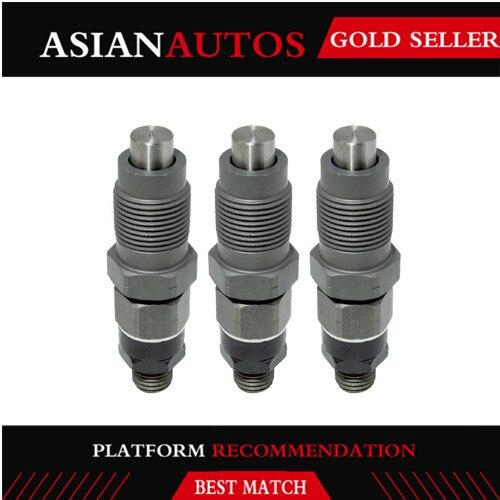 3 PCS Fuel Injector for Kubota K-008 K008-3 KX41-3 U15 U17 GF1800 GF1800E G2160