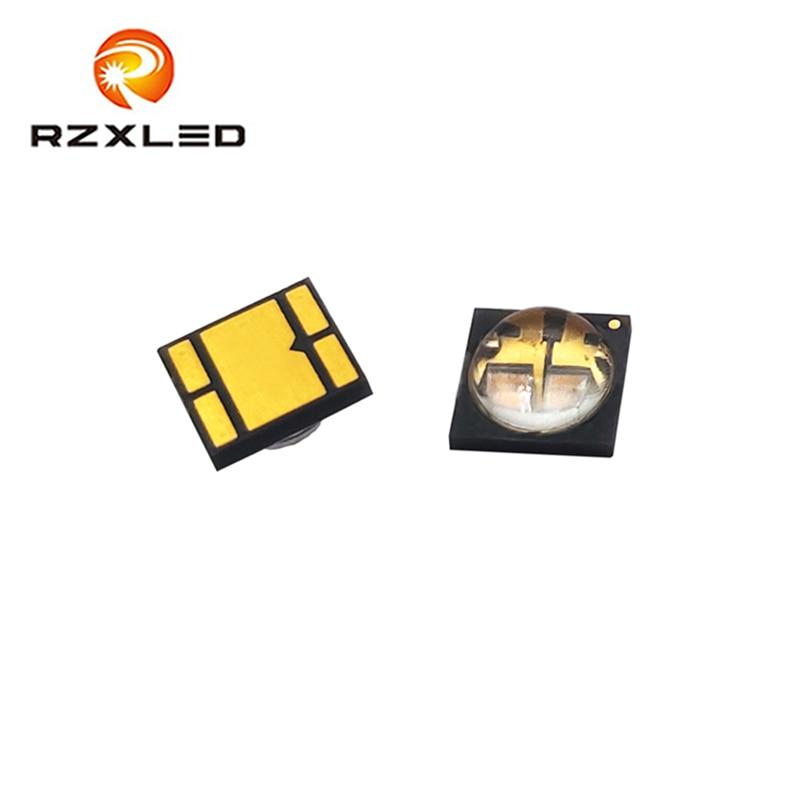 2 PCS/Lot LED 6V 3W 6868 Paquet Ultraviolet Puces 255nm 260NM 275NM 280NM 295NM 310NM UVC 40MW Diode