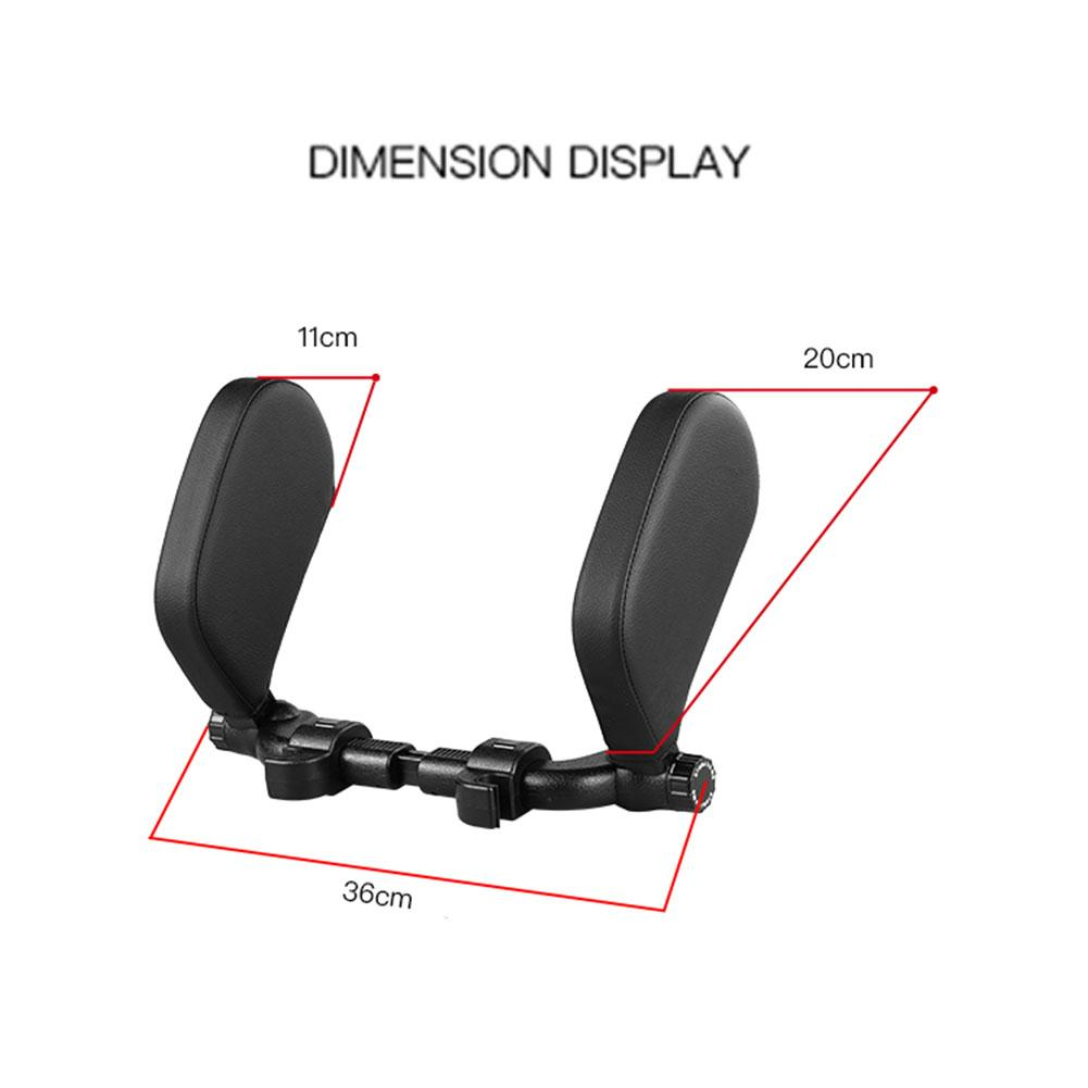 Car Seat Headrest Travel Rest Neck Pillow Support Solution For Kids And Adults Children Auto Seat Head Cushion Car Pillow 1