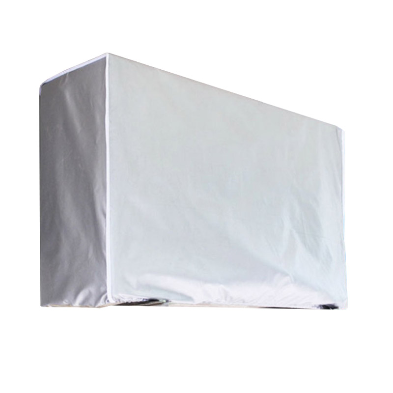 Washing Anti-Dust Cleaning Cover Waterproof Outdoor Air Conditioning Cover Polyester Air Conditioner Cleaning Cover 66CY