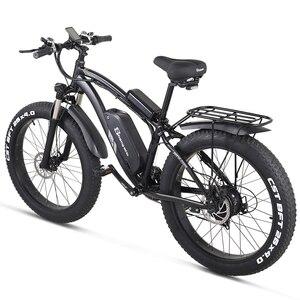 Image 2 - Shengmilo Elektrische Bike 1000W Herren Mountainbike Schnee Bike Elektro Fahrrad Ebike 48V17Ah Elektrische Fahrrad 4,0 Fett Reifen e bike
