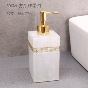 Image 5 - 400ml, 500ml, 800ml Resin European Shower Gel Soap Dispenser Lotion Bottle Hand Sanitizer Shampoo Moisture Press bottle