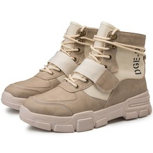 Fashion Men's Tactical Boots Outdoor Ankle Boots Men Winter Warm Working Boots H