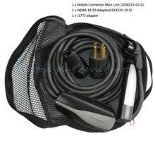 Мобильный переходник комплект зарядное устройство зарядный кабель для Tesla модель S& X 1058221-01-G J1772 адаптер 1014324-10-E