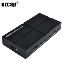 Video-Record-Box Game-Capture-Card Live-Video-Streaming OBS 1080P HD USB with Usb-3.0