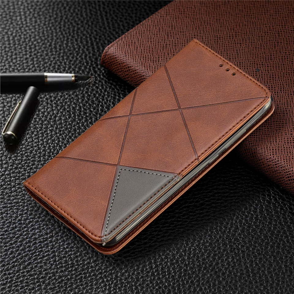 H63d097a175af446fa8dd1e10a3abb5c3y For Huawei Honor 10 Lite Case Leather Wallet Flip Cover Soft Silicone Case for Honor 10i 9X 8A 8S Magnetic Case Card Holder