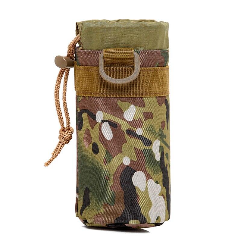 Water Bottle Holder Bag Tactic Outdoor Military Water Bottle Bag Kettle Pouch Holder Bag Large Capacity