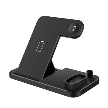 DCAE 4 in 1 Ασύρματος φορτιστήςiPhone 11 X XS XR XS Max 8 Plus For Apple Watch 5 4 3 2 Airpods Pro A.I. Σπίτι - Γραφείο - Επαγγελματικά Γραφείο Gadgets MSOW