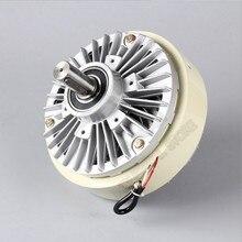 5 кг 50Nm DC 24V двойной вал 2 оси магнитный порошок сцепления обмотки тормоза для натяжения мешок управления с рисунком машины