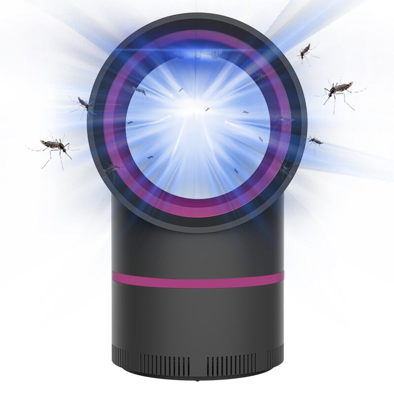 ETONTECK USB Electric Mosquito Killer Lamp No Noise No Radiation LED UV Night Light Bug Zapper Insect Trap Home Pest Control