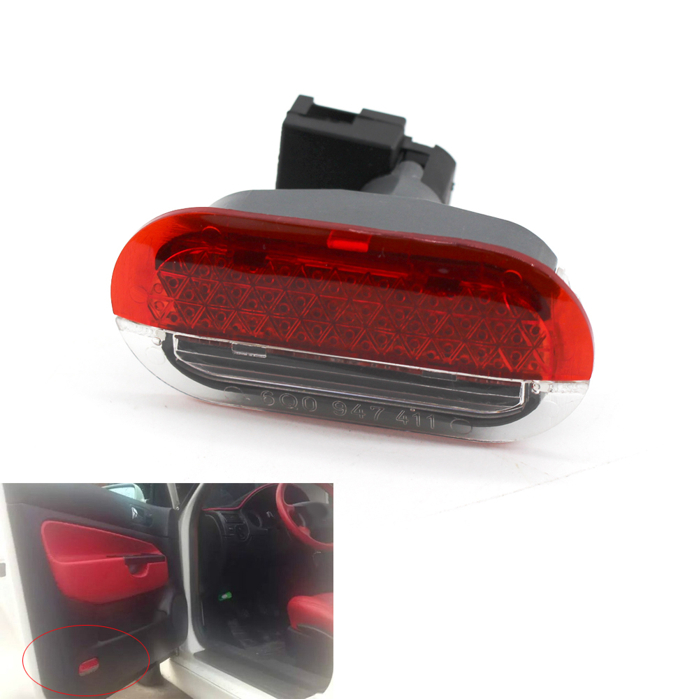 Car Interior Door Courtesy Warning Lamp Light For Bora Golf 4 MK4 Jetta 1998-2005 6Q0947411 High Quality And Durable image