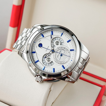 Reef Tiger/RT Watch Casual Business Men Watch with Date Calender Moon Phase Watch for Men RGA830 2