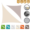 3x3x4.3m Summer Sun Shade Sail for Outdoor Camping Balcony Patio Garden Playground Park Roof Awning Cover Sun Shelter Canopy
