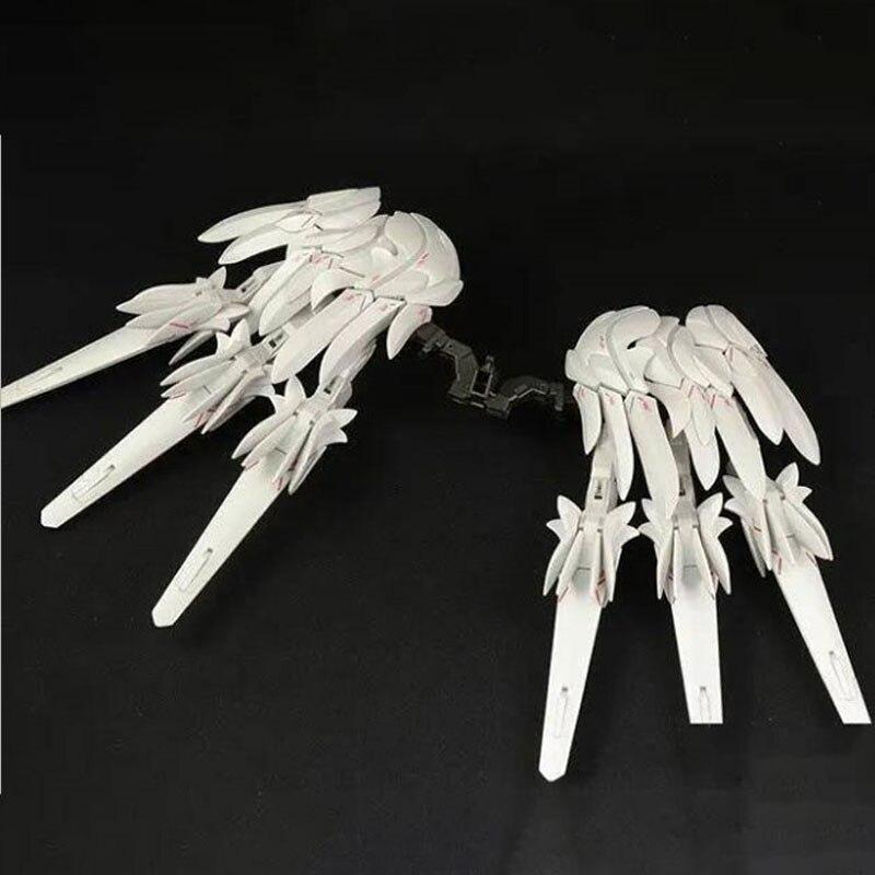 W-Gundam Zero Custom Snow White Prelud набор аксессуаров соединитель летающие крылья набор из шести экшн-фигурок детские подарки