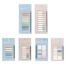 60/120/200 Sheets PET Planner Stickers Index Tabs Bookmark Sticky Notes School
