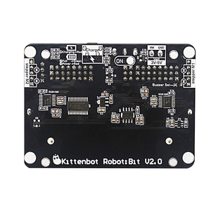 Image 4 - KittenBot Robot:bit V2.2 Expansion Board for BBC Micro:bit Extension Board support 18650 Battery for Micro:Bit DIY Robot