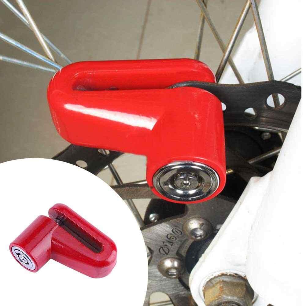Sepeda Rem Cakram Sepeda Fixed Anti Pencurian Keamanan Kunci Listrik Skuter Roda Disc Brake Lock dengan 2 Kunci ciclismo