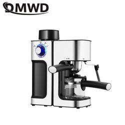 DMWD 240ML włoska kawiarka do Espresso automatyczne elektryczne ekspres do kawy Latte Cappuccino CafeMocha mleko spieniacze spieniacz do mleka