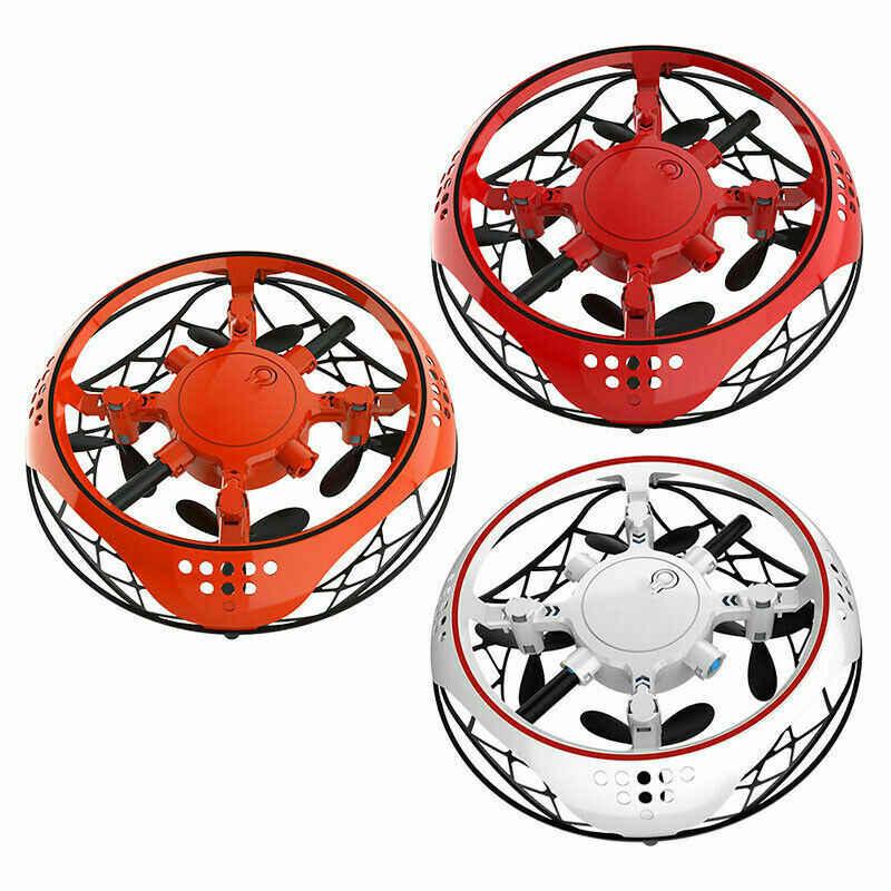 Pudcoco Elettrico Giocattolo Elettronico LED di Induzione Mini Drone UFO giocattoli Per Bambini di Natale Brithday Regali Mano Magica UFO Volare Drone Aereo