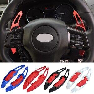 For Scion FR-S Toyota 86 GT86 Subaru BRZ XV Legacy Forester Outback Impreza Car steering wheel shift gear paddles DSG extender